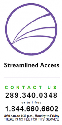Streamlined Access Contact Logo