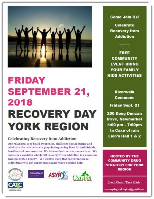Recovery Day York Region
