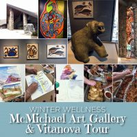 McMichael Art Gallery and VitaNova Tour photo compilation