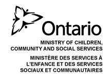 Ontario Ministry of Children, Community and Social Services