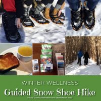 Gudied Snow Shoe Hike photo compilation