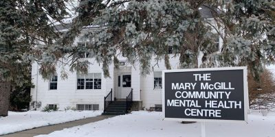 The Mary McGill Community Health Centre is located next to Stevenson Memorial Hospital in Alliston.